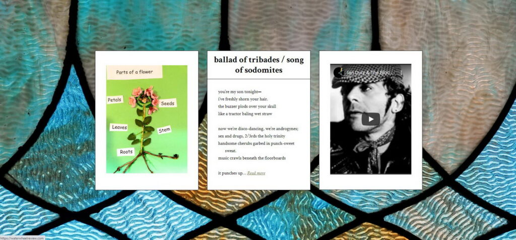 ballad of tribades triptych