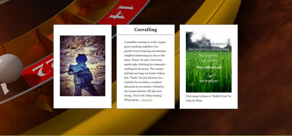 "original triptych for ""coralling"""
