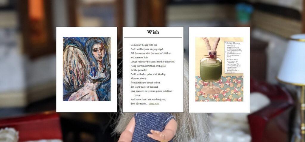 "original triptych for ""wish"""