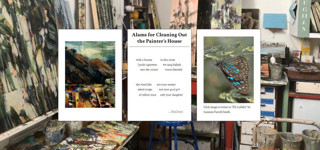 triptych for Alams for Cleaning Out the Painter's House